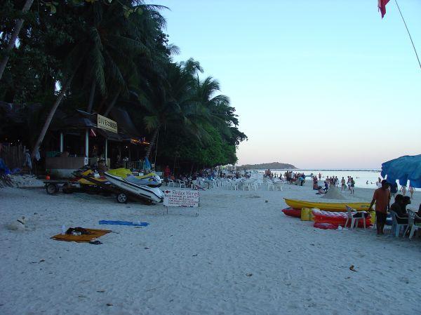 Abends am Chaweng Beach...