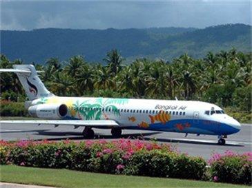 Eine Boeing 717 der Bangkok Airways